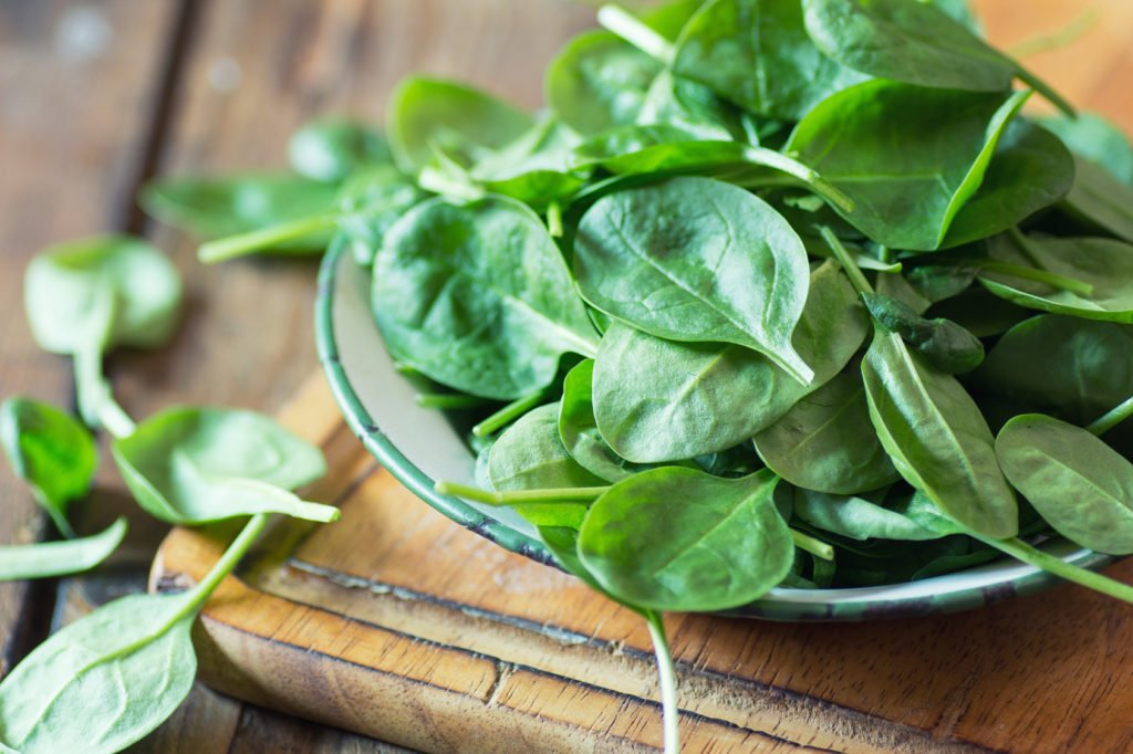 Simple against fatty liver: Green leafy vegetables such as spinach and arugula protect against fatty liver