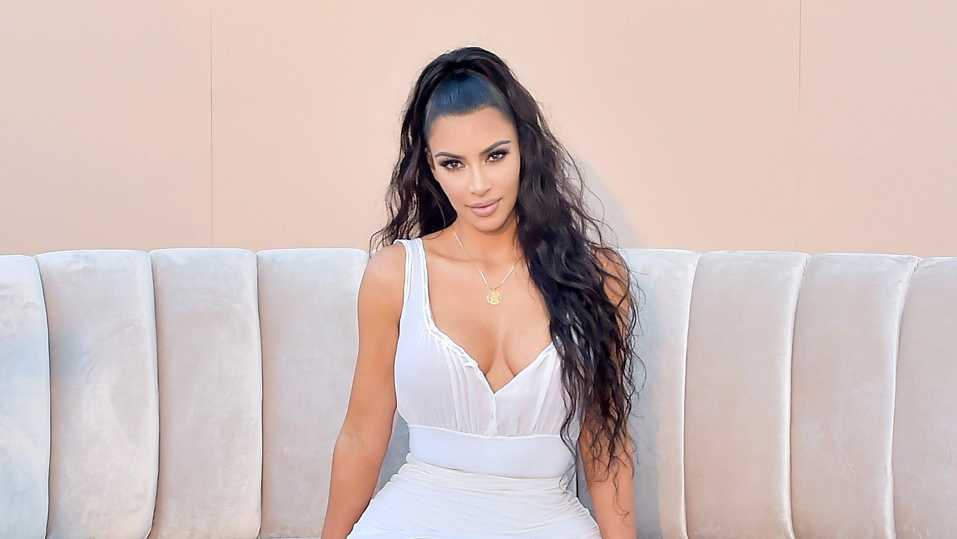 Kim Kardashian West Mom-Shamed for Daughter North's Red Lipstick