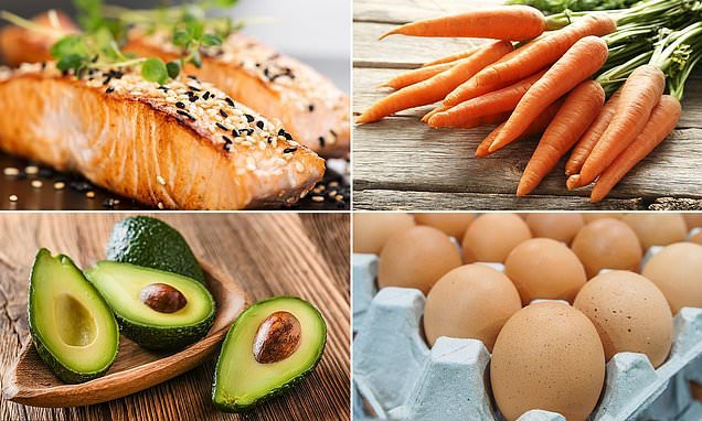 Nutritionist reveals the five best foods for healthy eyes