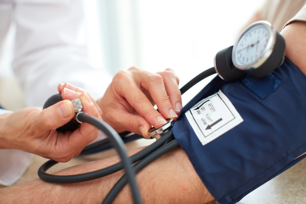 Caution in hypertension: The second blood pressure value is significantly
