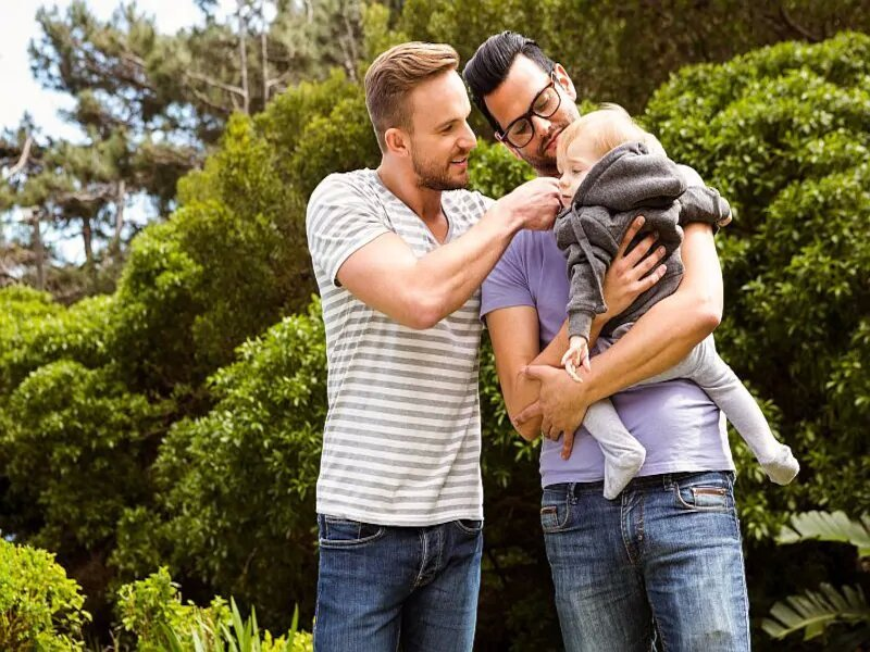 Gay dads and their kids still face social shaming