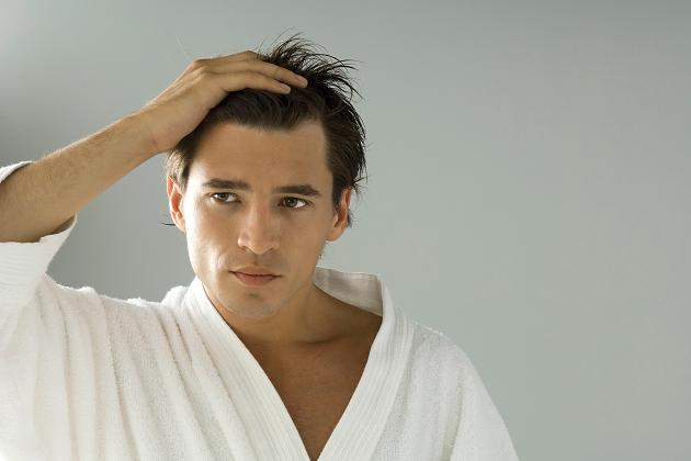 Receding hairline: What can men do