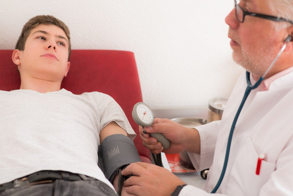 Research: blood pressure values above the normal value can also be signs of brain damage!