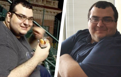 A Hotdog-Eating Challenge Kickstarted This Guy's 200-Pound Weight Loss