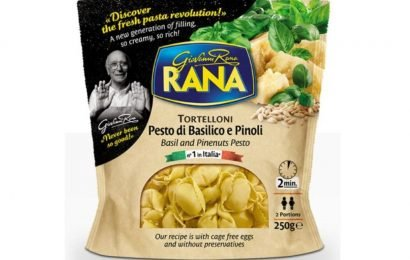 Federal Pasta-recall due to undeclared allergens