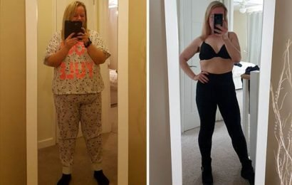 Obese mum sheds 7st in 8 months by doing this class which burns 1,000 calories