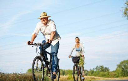 The saddle damages when Cycling the prostate?