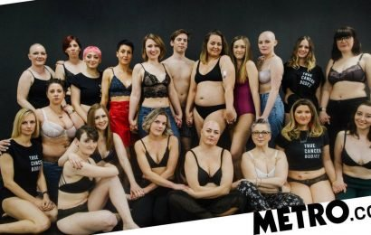 Photos show real people with cancer to take apart glossy celebrity campaigns