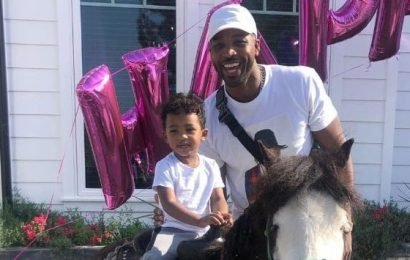 Doting Dad! Tristan Thompson Spends Quality Time With Son Prince