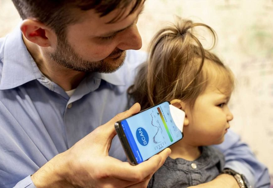 First smartphone app that can hear ear infections in children
