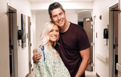 Lauren Burnham, Arie Luyendyk Jr. Post Pics From Hospital Ahead of Birth