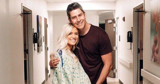 Lauren Burnham, Arie Luyendyk Jr. Post Pics From Hospital Ahead of Birth