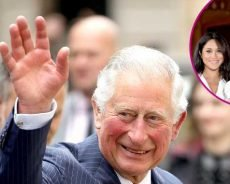 Proud Grandpa! Prince Charles Visits Harry, Meghan's Son Archie
