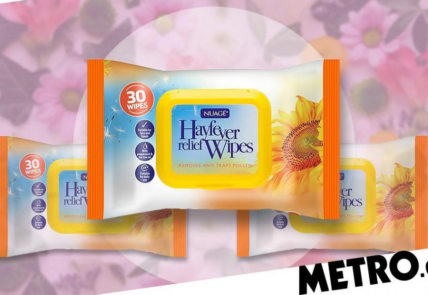 People are loving these 99p hay fever wipes that promise to trap pollen