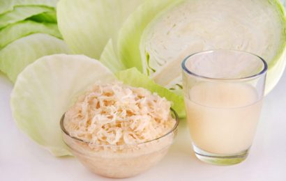 Eating: yogurt and Sauerkraut to stimulate our immune system