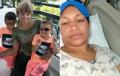 Mother diagnosed with food poisoning on holiday has brain bleed