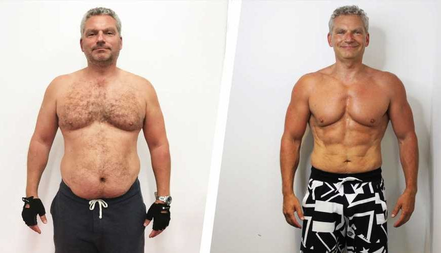 How This Guy Gave Up Drinking and Got into the Best Shape of His Life at 46