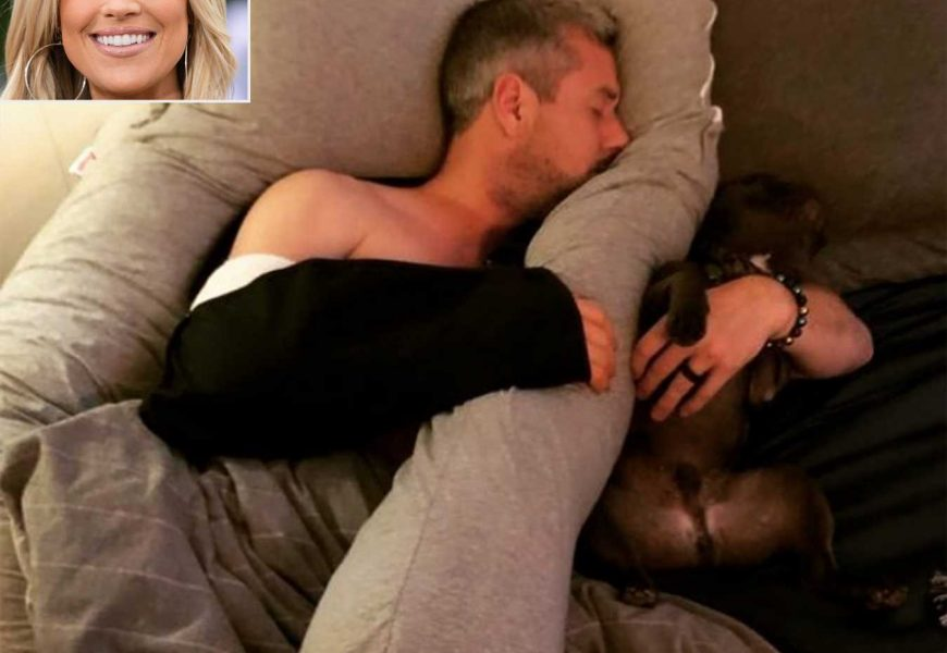 Christina Anstead Shares Hilarious Snap of Husband Ant's Newfound Love for Her Pregnancy Pillow