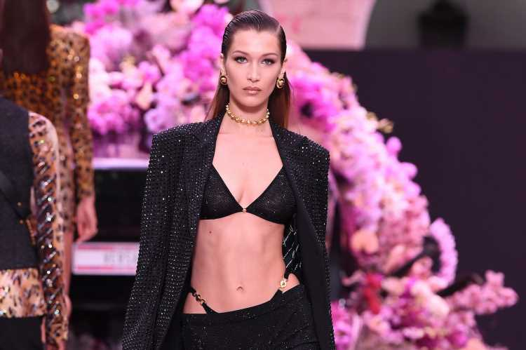 The Eating And Exercise Habits That Help Bella Hadid Sculpt Her Abs
