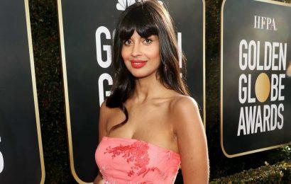 Jameela Jamil Celebrates Her Eczema and Scars After Slamming Kim Kardashian's Body Makeup