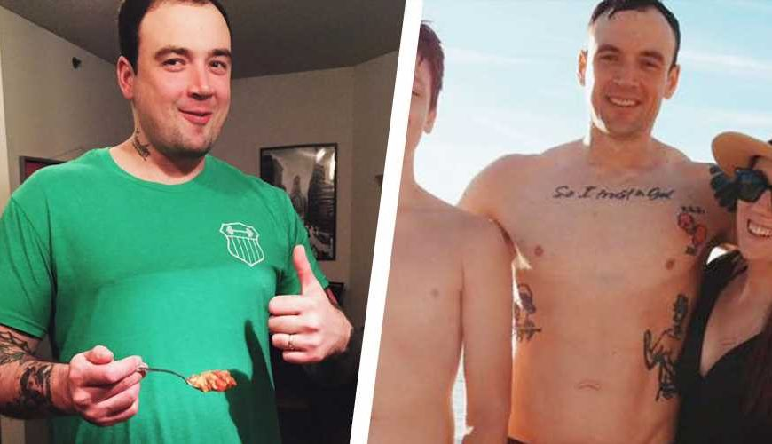 This Powerlifter Fixed His Diet and Went From Fat to Fit