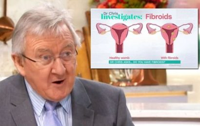Stomach cramps warning: Do you have fibroids? Dr Chris warns tummy pains could be sign