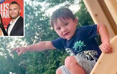 Playground Pals! See Jenni 'JWoww' Farley's Son, 3, Wave and Blow a Kiss to Her Boyfriend Zack