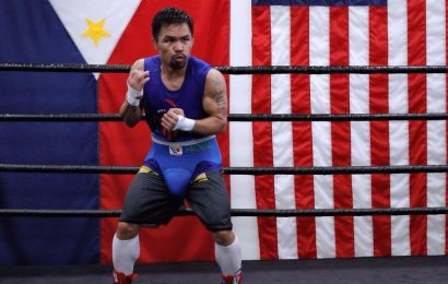 How Manny Pacquiao Is Still Training Like He's 20 Years Old