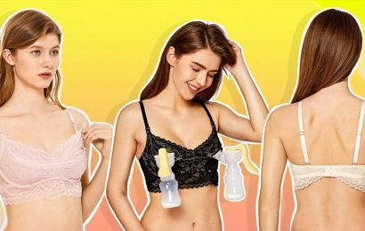 This Is the Prettiest Pumping Bra We've Ever Seen — & It's Only $24
