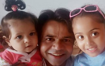 Father of three girls, Rajpal Yadav loves spending time with his daughters