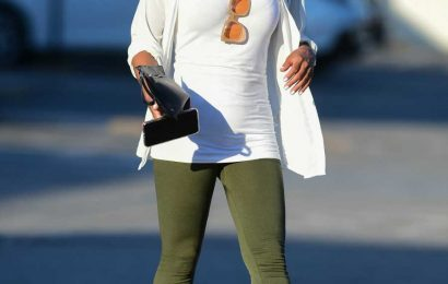 Christina Milian Shows Off Her Baby Bump While out and About After Pregnancy Announcement