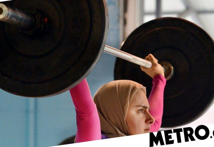 Muslim woman is an Olympic weightlifter and has an engineering PhD