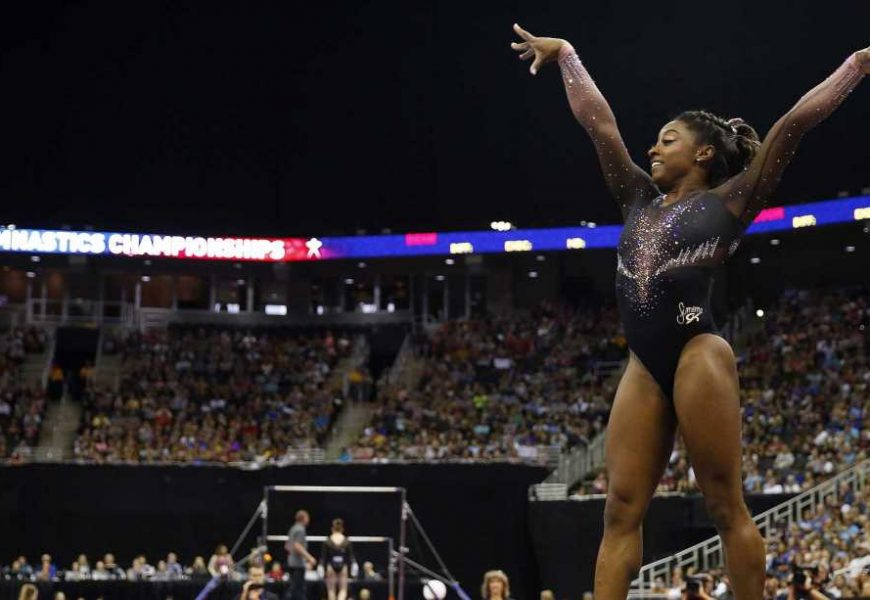 Watch Simone Biles Pull Off the 'Hardest Move in the World' at the U.S. Gymnastics Championships