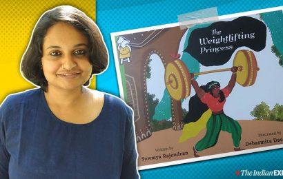 Sowmya Rajendran's book about a weightlifting princess breaks gender rules