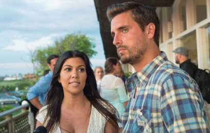 Kourtney Kardashian & Scott Disick Are Still Managing to Co-Parent Through Nanny Disaster