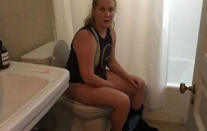 Amy Schumer Posts Throwback of the Exact Moment She Found Out She Was Pregnant on Toilet