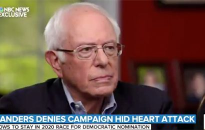 Bernie Sanders Denies His Campaign Hid Heart Attack as He Vows to Continue Presidential Bid