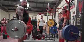 Eddie Hall Takes on World's Strongest Woman Winner in a 'Pound-for-Pound Challenge'