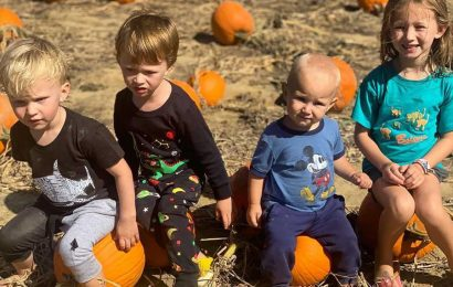 #SquashGoals! Adorable Snaps of Celebrity Kids at the Pumpkin Patch