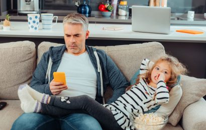 Smartphones reduce in the case of parents, the empathy