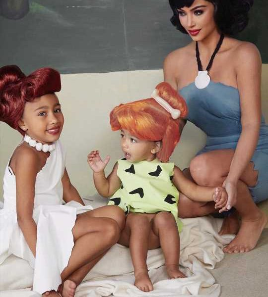Kim Kardashian Reveals Why Daughter Chicago Had to Be Edited into Their Family Halloween Photo