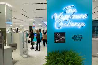 Saks Agrees, Happy Doesn't Mean Perfect