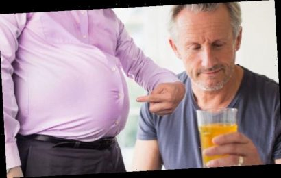 How to lose visceral fat: The health drink proven to reduce the harmful belly fat