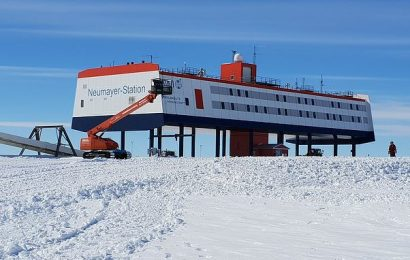 Antarctic scientists' brains SHRANK after a year on the icy continent