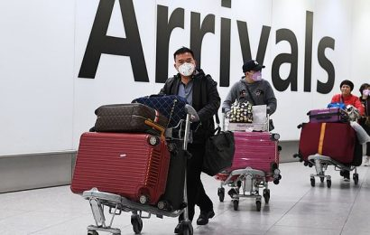 UK 'could ban ALL flights from China' because of coronavirus