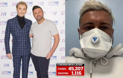 Ex-TOWIE star Harry Derbridge's fiancé tested for killer coronavirus