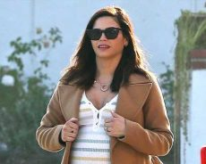Glowing! Jenna Dewan Flaunts Giant Ring and Growing Bump After Engagement