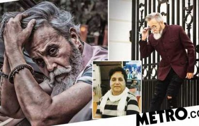 20-stone man loses weight, becomes a model and joins Bollywood at 61