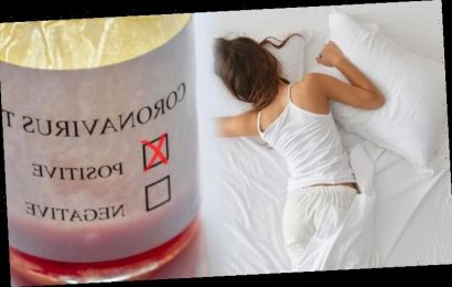 Coronavirus: Research from China says to sleep in this position if you have mild symptoms