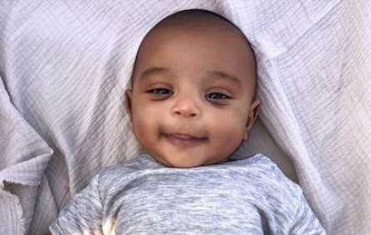 Sweet Psalm! See Pics of Kim Kardashian, Kanye West's Second Son
